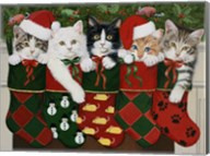 Christmas Kittens Fine-Art Print