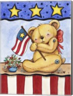 Patriotic Bear Fine-Art Print