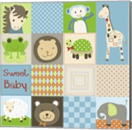 Baby Boy Animal Quilt Fine-Art Print