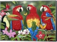 Tropical Friends Fine-Art Print