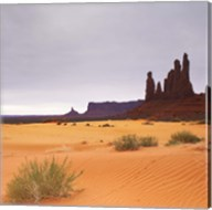 Monument Valley Panorama 1 2 of 3 Fine-Art Print