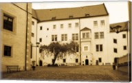 Facade of the castle site of famous WW2 prisoner of war camp, Colditz Castle, Colditz, Saxony, Germany Fine-Art Print