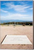 Le Struthof former Nazi concentration camp memorial, Natzwiller, Bas-Rhin, Alsace, France Fine-Art Print