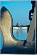 Sculpture of an Anchor, USS Arizona Memorial, Pearl Harbor, Honolulu, Oahu, Hawaii Fine-Art Print