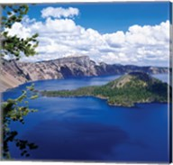 Crater Lake at Crater Lake National Park, Oregon Fine-Art Print