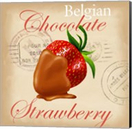 Belgian Chocolate Strawberry Fine-Art Print