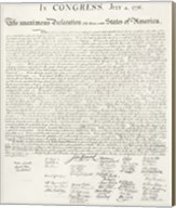 Constitution of the United States Fine-Art Print
