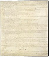 Constitution of the United States II Fine-Art Print