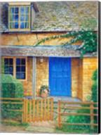 The Blue Door Fine-Art Print