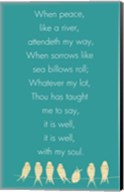 It Is Well With My Soul Panel Fine-Art Print