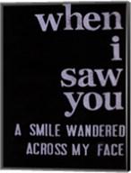When I Saw You... II Fine-Art Print
