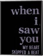 When I Saw You... III Fine-Art Print