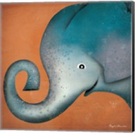 Elephant WOW Fine-Art Print