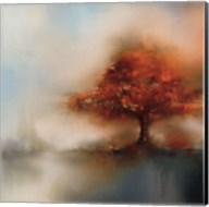 Morning Mist & Maple I Fine-Art Print
