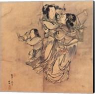 Painting of the Nineteen Iimmortals I Fine-Art Print