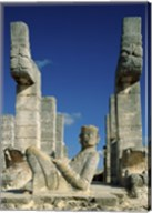 Mayan Statues Temple of the Warriors Fine-Art Print