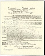 Bill of Rights (Document) Fine-Art Print