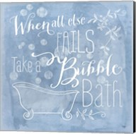 Take a Bubble Bath Fine-Art Print