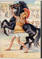 Alexander the Great in the Olympic Games Fine-Art Print