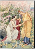 Demeter Rejoiced For Her Daughter Was By Her Side Fine-Art Print
