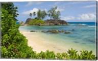 Coastal view on Mahe Island, Seychelles Fine-Art Print