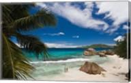 Anse Patates Beach, La Digue Island, Seychelles Fine-Art Print