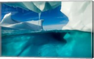 Antarctica, Arched Iceberg floating near Enterprise Island. Fine-Art Print
