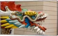 Dragon Head, Goddess of Mercy temple, Hong Kong Fine-Art Print