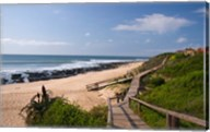 Jeffrey's Bay boardwalk, Supertubes, South Africa Fine-Art Print