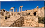 Roman Theater, Ancient Architecture, Dougga, Tunisia Fine-Art Print