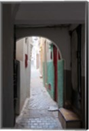 Street in the Kasbah, Tangier, Morocco Fine-Art Print