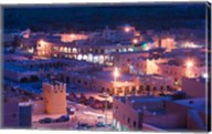 Night View of Town, Tinerhir, Morocco Fine-Art Print