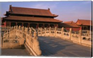 Traditional Architecture in Forbidden City, Beijing, China Fine-Art Print