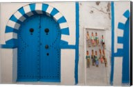 Tunisia, Cap Bon, Hammamet, Medina door Fine-Art Print