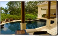 Villa at Banyan Tree Resort on Mahe Island, Seychelles Fine-Art Print