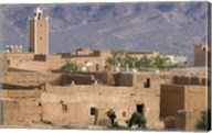 Traditional Houses Outside Zagora, Draa Valley, Morocco Fine-Art Print