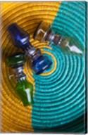 Tunisia, Ksour Area, Ksar Haddada, Lantern at market Fine-Art Print