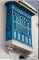 Tunisia, Sidi Bou Said, building detail Fine-Art Print