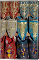 Traditionally Embroidered Babouches, Morocco Fine-Art Print