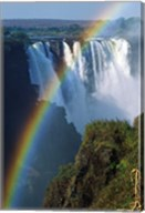 Waterfalls, Victoria Falls, Zimbabwe, Africa Fine-Art Print