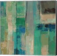 Emerald Fields Square II Fine-Art Print
