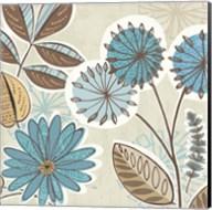 Funky Flowers V Fine-Art Print