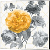 Geometric Watercolor Floral II Fine-Art Print