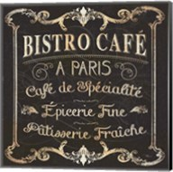 Parisian Signs Square II no Border Fine-Art Print