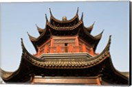 China, Suzhou. Pagoda along Shan Tang Street. Fine-Art Print