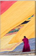Labrang Monastery Monk, Xiahe, Gansu Province, China Fine-Art Print