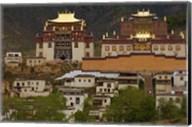 Deqin Tibetan Autonomous Prefecture, Songzhanling Monastery, Zhongdian, Yunnan Province, China Fine-Art Print