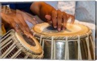 Drum Player's Hands, Varanasi, India Fine-Art Print