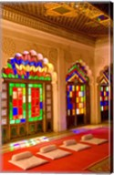 Stained Glass Windows of Fort Palace, Jodhpur at Fort Mehrangarh, Rajasthan, India Fine-Art Print