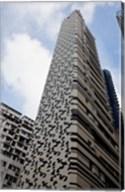 Building, Hong Kong, China Fine-Art Print
